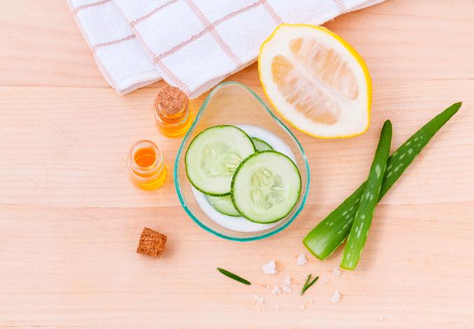 Productos orgánicos para la piel