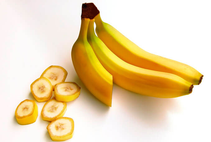 Plátano para evitar el efecto frizz