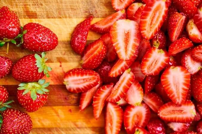 Las fresas estimulan la producción de colágeno