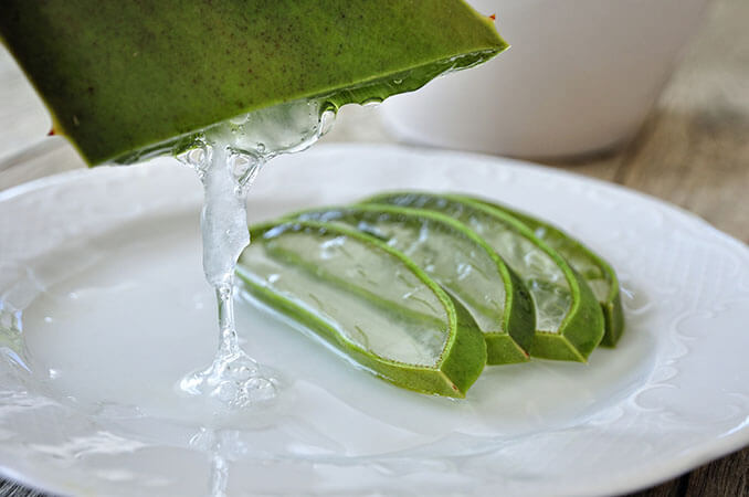 Aloe vera es un remedio natural para las ojeras - El Círculo de la Belleza